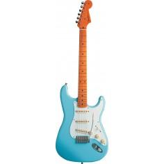 Guit. Elec. Stratocaster 50's Classic Mexico, MN, c/Funda Daphne Blue