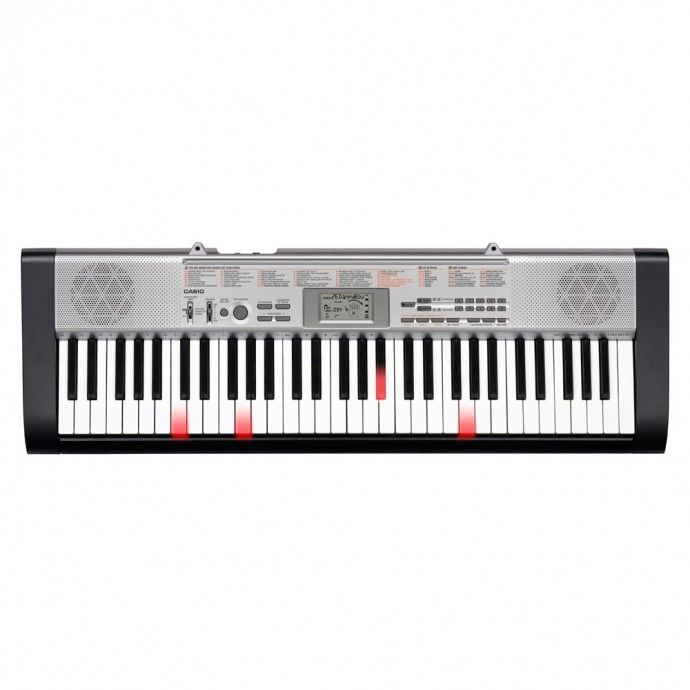 Teclado c;Ilum de Teclas, 61tec. t;piano, 12 polif, 100s, 5