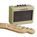 "Amp. p;Guitarra Portatil Mini `57 Twin Amp, 1w, 2x2"", 9V Tw"