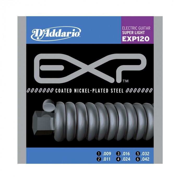 Encordado p/Guit eléctrica EXP120 extra blandas, 009-042