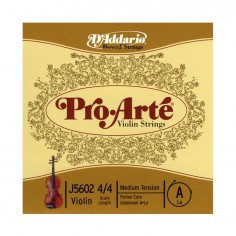 Cuerda 2º p;Violin, 4;4, PROATE, A-Aluminio, Tension: Med