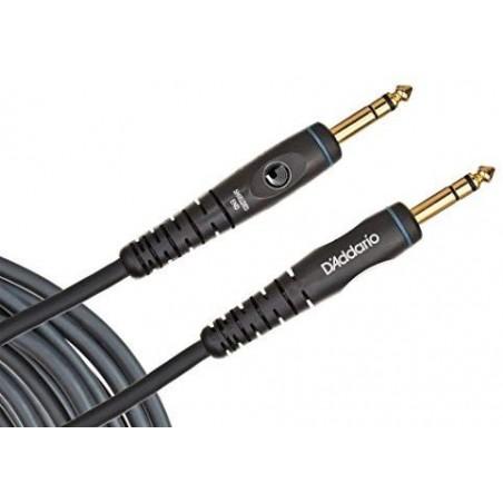 Cable p/ instrumento plug-plug stereo 1/4' 3 mts. 'Custom Series'