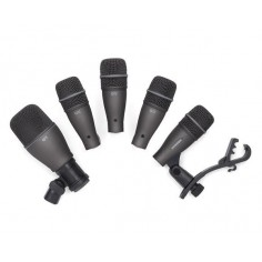 Set de 5 mics. p; bateria (4 tom;snare Q72 + 1 drum Q71 + s