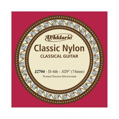 Cuerda Suelta, clásica (EJ27), 4ta, normal, plateada (MC x