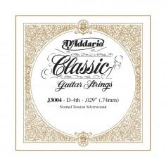 cuerda suelta p/Guit clásica J3004 tensión normal, 4ta cuerda