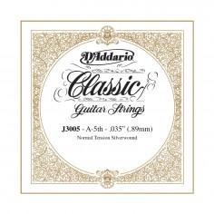 cuerda suelta p/Guit clásica J3005 tensión normal, 5ta cuerda