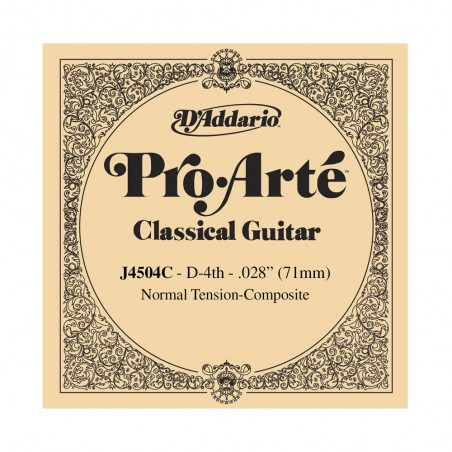 Cuerda Suelta, clásica (Pro-Arté Composites), 4ta, normal (