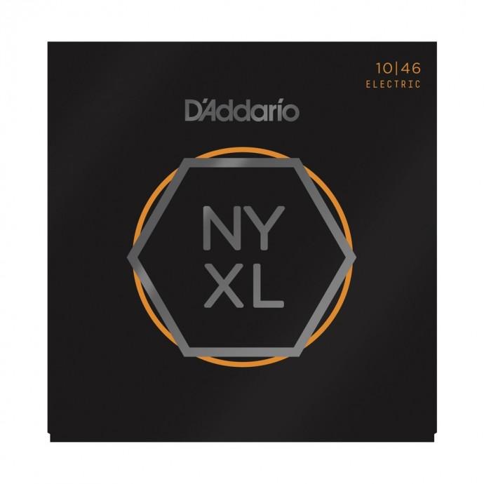 Encordado p/guit eléctrica NYXL1046 con entorchado de Nickel, Regular Light, 10-46