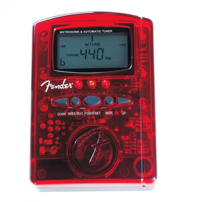 Afinador-Metronomo MT-1000 Rojo