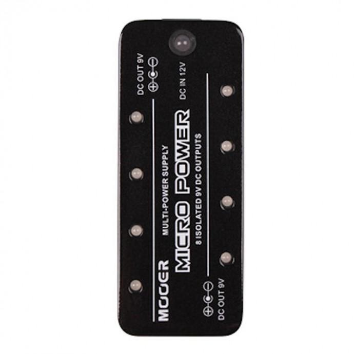 MICRO POWER Transformador para 8 pedales