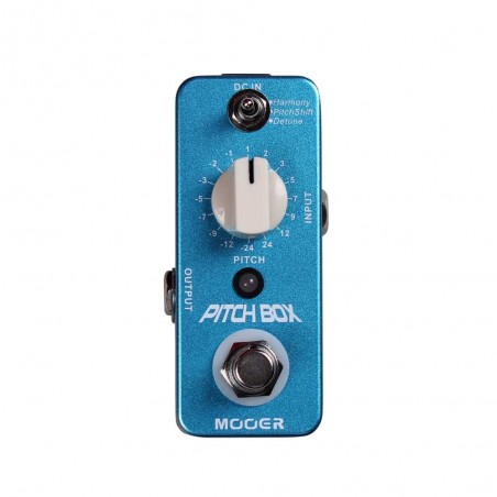 Micro pedal de efecto PITCH BOX Pitch Shifter