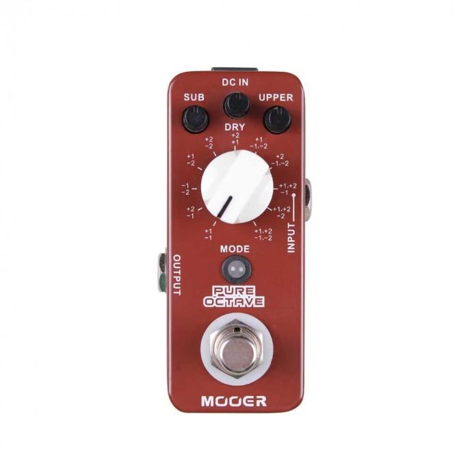 Micro Pedal p;guit, OCTAVADOR POLIFONICO, 11 modos