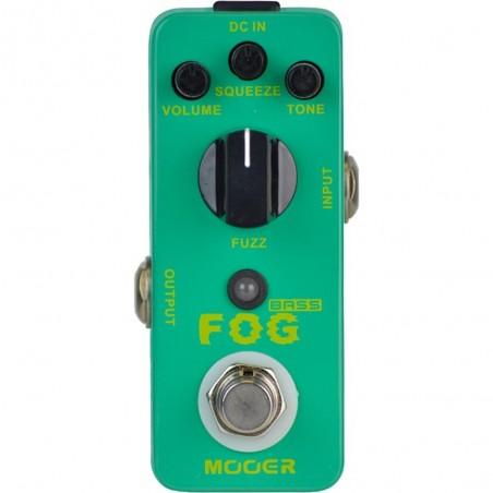 micro pedal de efecto FOG Fuzz para Bajo