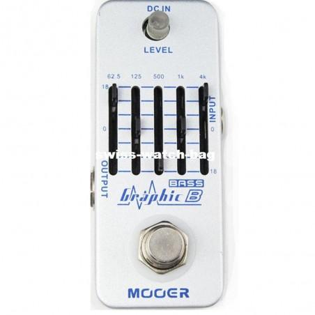 Micro pedal GRAPHIC B Ecualizador para bajo