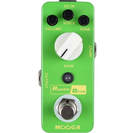 Micro Pedal de efecto p;guit, smooth overdrive, true-by-pas