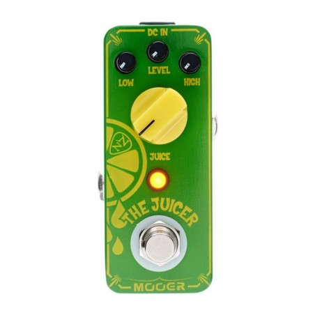 THE JUICER Pedal overdrive Signature