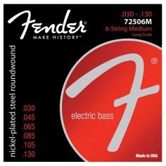 Encordado p/Bajo Eléctrico 7250-6M .030-.130, 6 cuerdas