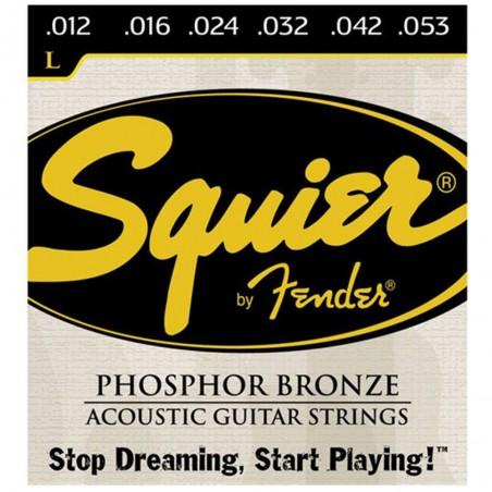 Encordado p/Guit Acústica, Squier 012-053