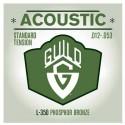 Encordado p/Guit Acústica L350, 012-053, PH Bronze