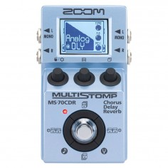 Zoom MS-70CDR Multiefecto para guitarra y bajo