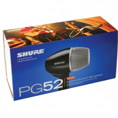 Shure PG52-LC Micrófono dinámico especial para Bombo