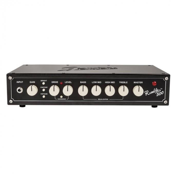 Fender RUMBLE 500 HD V3 Cabezal de bajo 500w