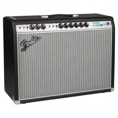 Amp. P;Guitarra 68 Custom Vibrolux Reverb 35 Watts, Valvula