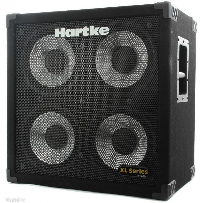 Hartke 410XL bafle para bajo 4x10 400 watts cono aluminio.