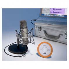Samson C03UPK set microfono condenser mas soporte.