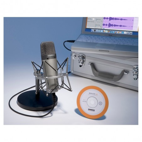 Pack Recording ;Podcast, de Microfono Condenser C03U + SP0