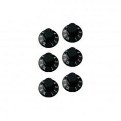 Perillas p/amp. ROC PRO numeradas x6