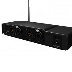 Sistema de monitoreo intraural EME One Stereo, VHF, c/Auric Beyer 'Fire One'
