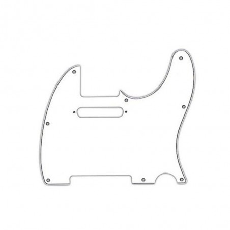 Pickguard Telecaster AM STD Blanco de 3 capas