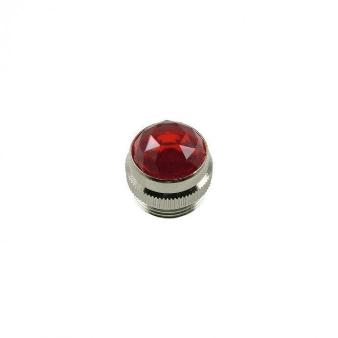 Vidrio Luz de encendido amp Fender, color Rojo