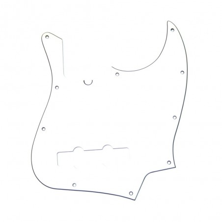 Fender Pickguard Jazz Bass Am Std 1 Capa Blanco