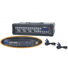 Blg MC 4300B mixer potenciado 4ch. 250 watts.