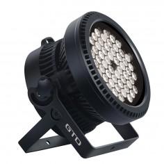 LED PAR LIGHT, LED 6W x54u, RGB three-in-one, Lens angle: 50°, IP67
