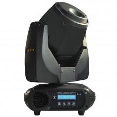 Cabezal Móvil tipo SPOT, LED white light 150W, Beam angle: 13°, DMX/RDM, IP20