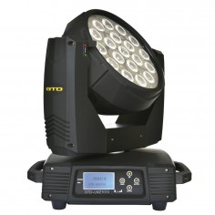 Cabezal Movil LED, OSRAM LED 10W x19u, RGBW four-in-one, Beam angle: 15°~70°, IP20