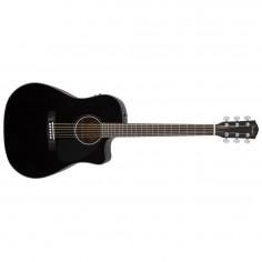 Guitarra acústica Classic Design CD-60CE, Pre Fishman, Afinador, c/Estuche rigido, Black-v2