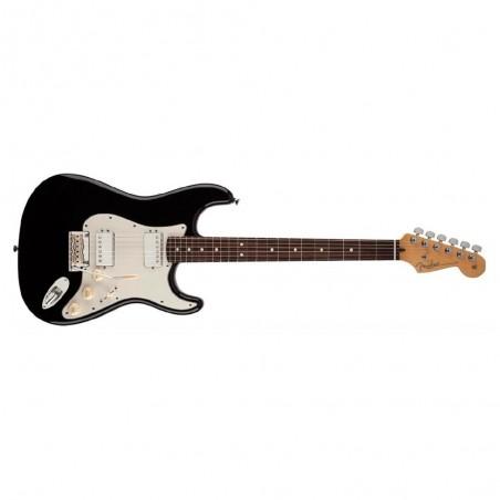Guit. Elec. Stratocaster American Standard RWN, HH, Mics. Twin Head, c/Est., Black