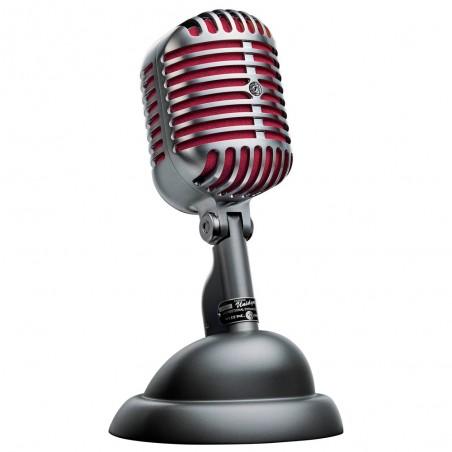 Micrófono vocal Unidyne, 55SH, Dinamico, Cardioide, Edicion Limitada 75 Aniv, estuche Aluminio