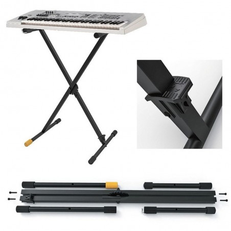Soporte de teclado con pedal de ajuste de posicion EZSTEP KEYBOARD