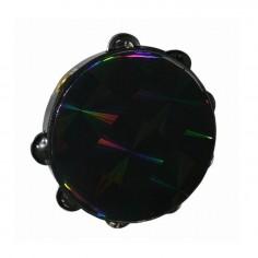 "Tambourin 8"", Sonajas Simples PRIZMATIC, c: Black"