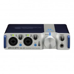 Placa interface, 2 imputs XLR/TRS, outputs TRS, Phones Out, cero latencia 24 bit/ 192kHz