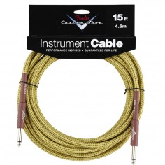 Fender Custom Shop 15' (4.5m) cable para instrumento Jack - Jack 099-0820-049