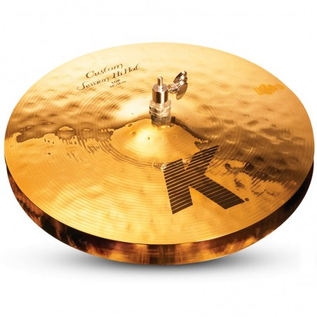 "K Custom Session Hi Hat Pair 14"" (Brilliant only 14"")"