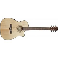Guitarra E. Acustica Folk CF-140SCE, con corte y EQ, Natural