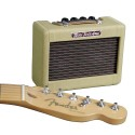 "Amp. p;Guitarra Portatil Mini `57 Twin Amp, 1w, 2x2"", 9V Tw"